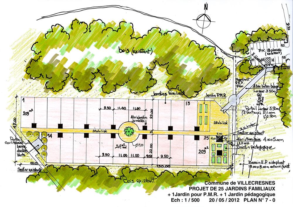 Transfert des jardins familiaux ville de villecresnes for Jardin familiaux