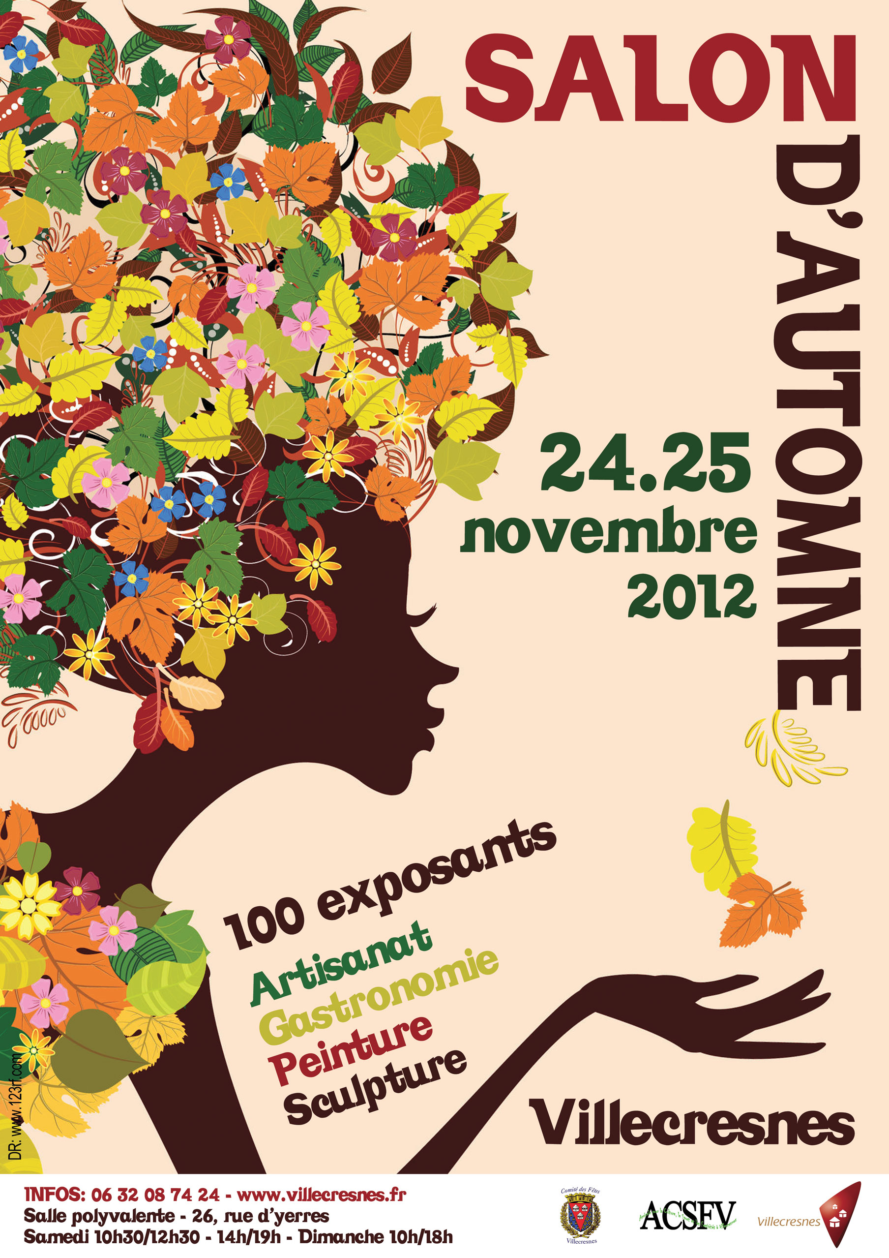 Salon d 39 automne ville de villecresnes for Salon automne