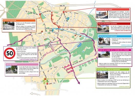 Plan nouvelle circulation web